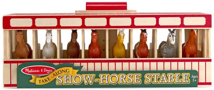 Melissa and Doug Kids' Show-Horse Stable Toy