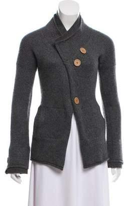 Brunello Cucinelli Wool Button-Up Sweater