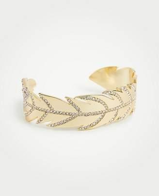 Ann Taylor Feather Cuff Bracelet