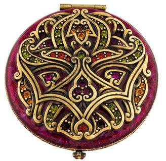 Jay Strongwater Crystal-Embellished Compact Mirror