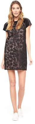 Juicy Couture Embroidered Downtown Floral Mesh Dress