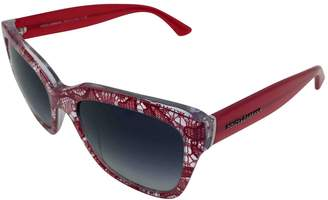 Dolce & Gabbana Red Plastic Sunglasses