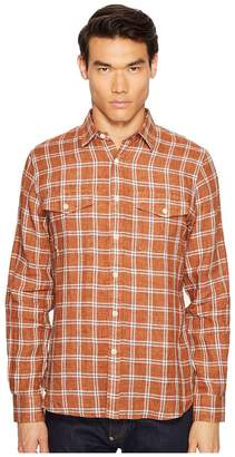 Todd Snyder Plaid Flap Pocket Shirt Men's Short Sleeve Button Up