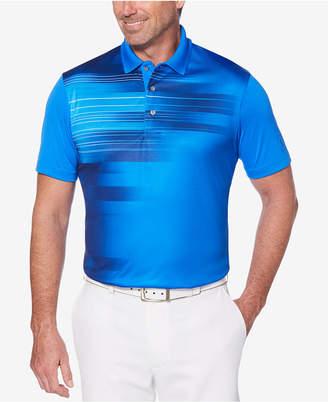 PGA Tour Men's Energy Printed Performance Polo
