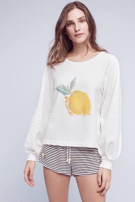 Saturday/Sunday Reveries Printed Sweatshirt $78 thestylecure.com