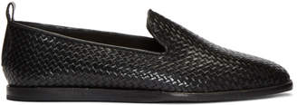 H By Hudson Black Ipanema Loafers