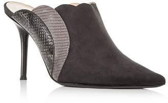 Chloé Women's Lauren Pointed-Toe High-Heel Mules
