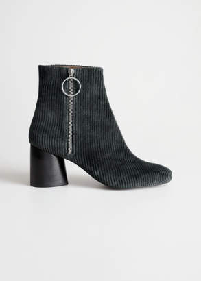 And other stories Corduroy O-Ring Boots
