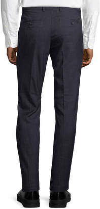 Original Penguin Men's Nep Crosshatch Slim-Fit Dress Pants