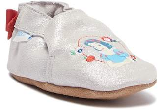 Robeez Soft Sole Snow White Suede Moccasin (Baby)