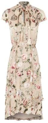 Alice + Olivia Lavenia Floral Midi Dress
