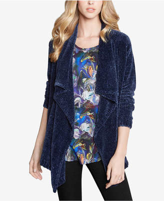 Karen Kane Draped Open-Front Cardigan