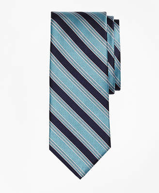 Brooks Brothers Split BB#1 Stripe Tie