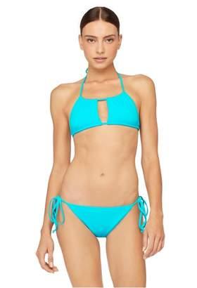 Milly Cabana Italian Solid Swim Fiji String Bikini Top