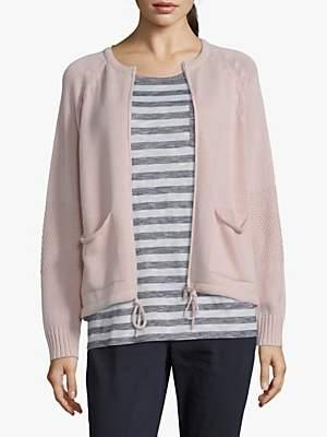 Betty Barclay Knit Zipped Cardigan