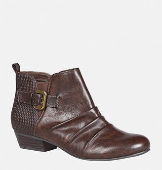Avenue Tracie Ruched Ankle Boot