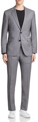 HUGO Fine Stripe Regular Fit Suit $695 thestylecure.com