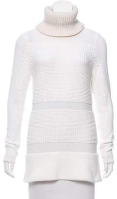 Helmut Lang Textured Turtleneck Sweater