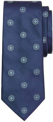 Brooks Brothers Textured Spaced Medallion Tie