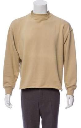 Fear Of God Raw-Edge Mock Neck Sweatshirt