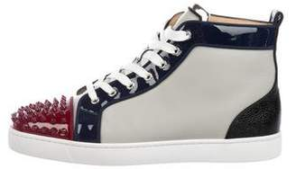 Christian Louboutin Lou Spikes Sneakers w/ Tags