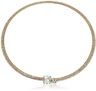 GUESS Rhinestone Choker W Stones Necklace