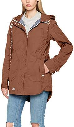 Khujo Women's Navassa Washed Nylon Jacket,UK