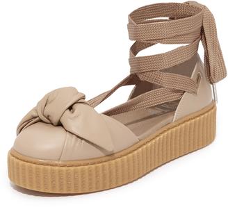 PUMA x FENTY Bow Creeper Sandals $140 thestylecure.com