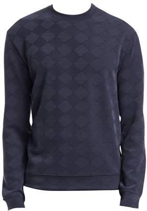 Emporio Armani Jacquard Geometric Pattern Sweatshirt