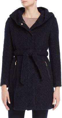Cole Haan Wool Belted Oversized Coat