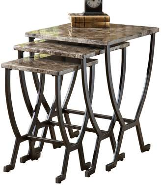 Hillsdale Furniture Barcelona 3-pc. Nesting Table Set