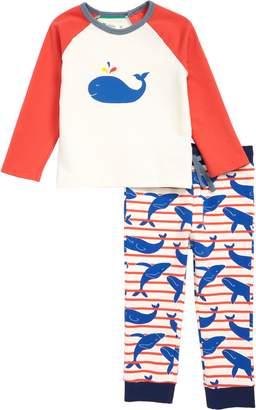 Boden Mini Fun Applique Shirt & Pants Set
