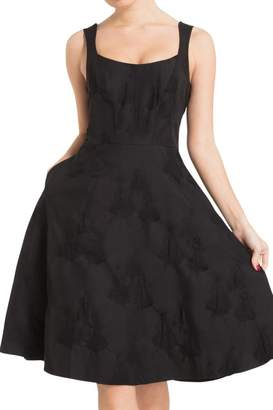 Voodoo Vixen Black Flare Dress