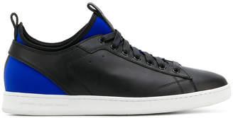 Diesel Black Gold lace-up sock sneakers