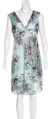 Ted Baker Printed Knee-Length Dress