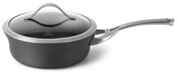 Calphalon Contemporary Nonstick 2.5-qt. Shallow Saucepan with Lid