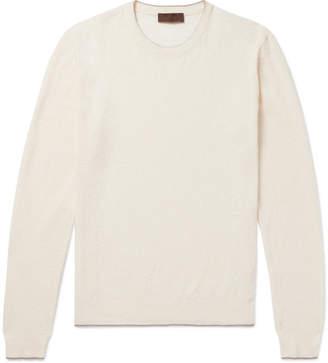 Altea Linen and Cotton-Blend Sweater