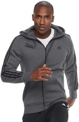 adidas Big & Tall Full-Zip Fleece Hoodie