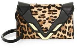 Elena Ghisellini Medium Leather Convertible Clutch