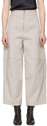Chloé Grey Cargo Trousers