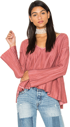 Free People Sundae Pullover Top in Pink $128 thestylecure.com