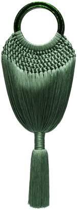 Cult Gaia green Angelou tote