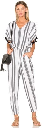 Seafolly Jacquard Stripe Jumpsuit $202 thestylecure.com