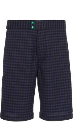 Marni Pantalone Uomo Plaid Twill Shorts