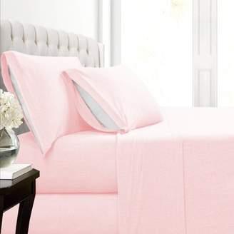 Fresh Linen Malina Cotton Jersey Knit Bed Sheet Set
