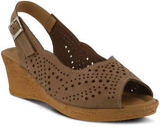 Spring Step Trikala Wedge Sandal -Blush - Women's