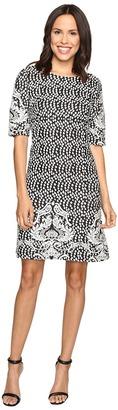 Christin Michaels Atlanta Jacquard Dress $79 thestylecure.com