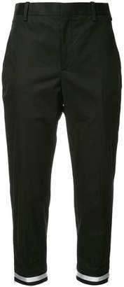 Neil Barrett cropped chic trousers