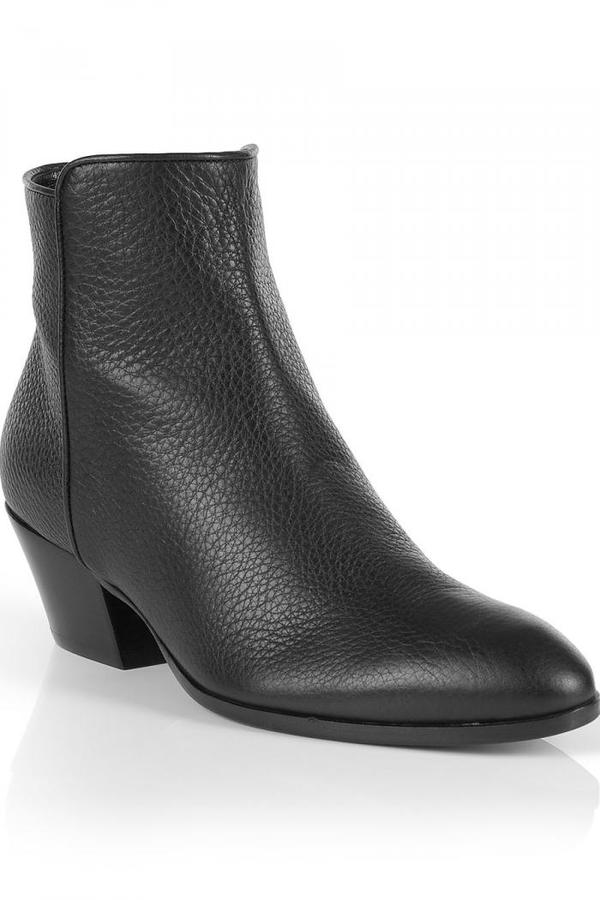 Giuseppe Zanotti Black Ankle Boots