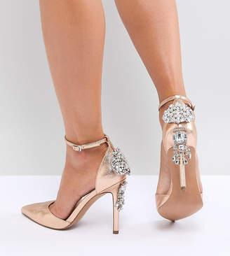 Asos Design DESIGN Plaza Embellished High Heels
